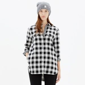Madewell Ex-Boyfriend Shirt in Shaw Plaid